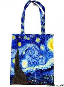 Torba SHOPPER BAG obraz Satrry Night van Gogh eko zakupy