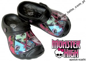 MONSTER HIGH MATTEL Klapki Crocsy 32/33 MATTEL